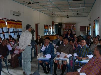 ブータン王国での専門家活動(櫻井会員)